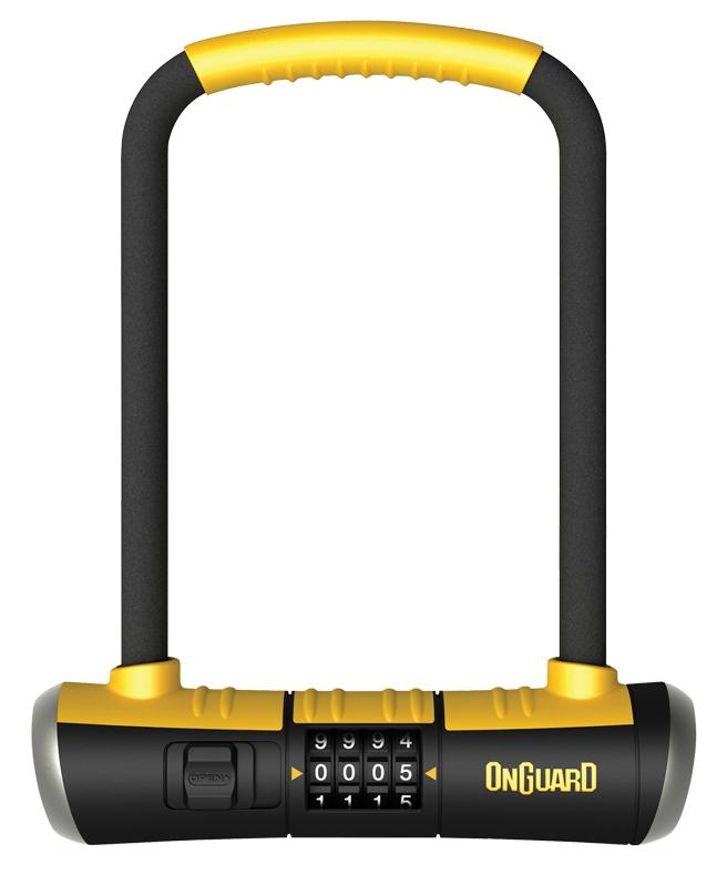 onguard bulldog combo dt u lock bicycle u lock u lock kryptonite bike lock. Black Bedroom Furniture Sets. Home Design Ideas